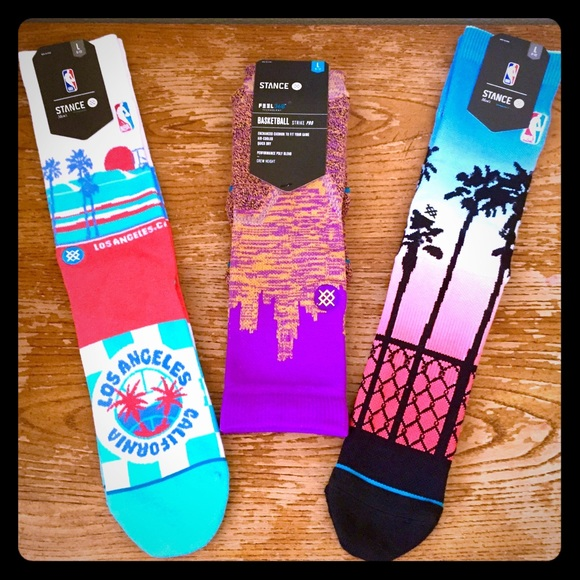 Stance Other - 🔥🧦 NEW Stance x Los Angeles Socks RARE 3pk 🧦🔥